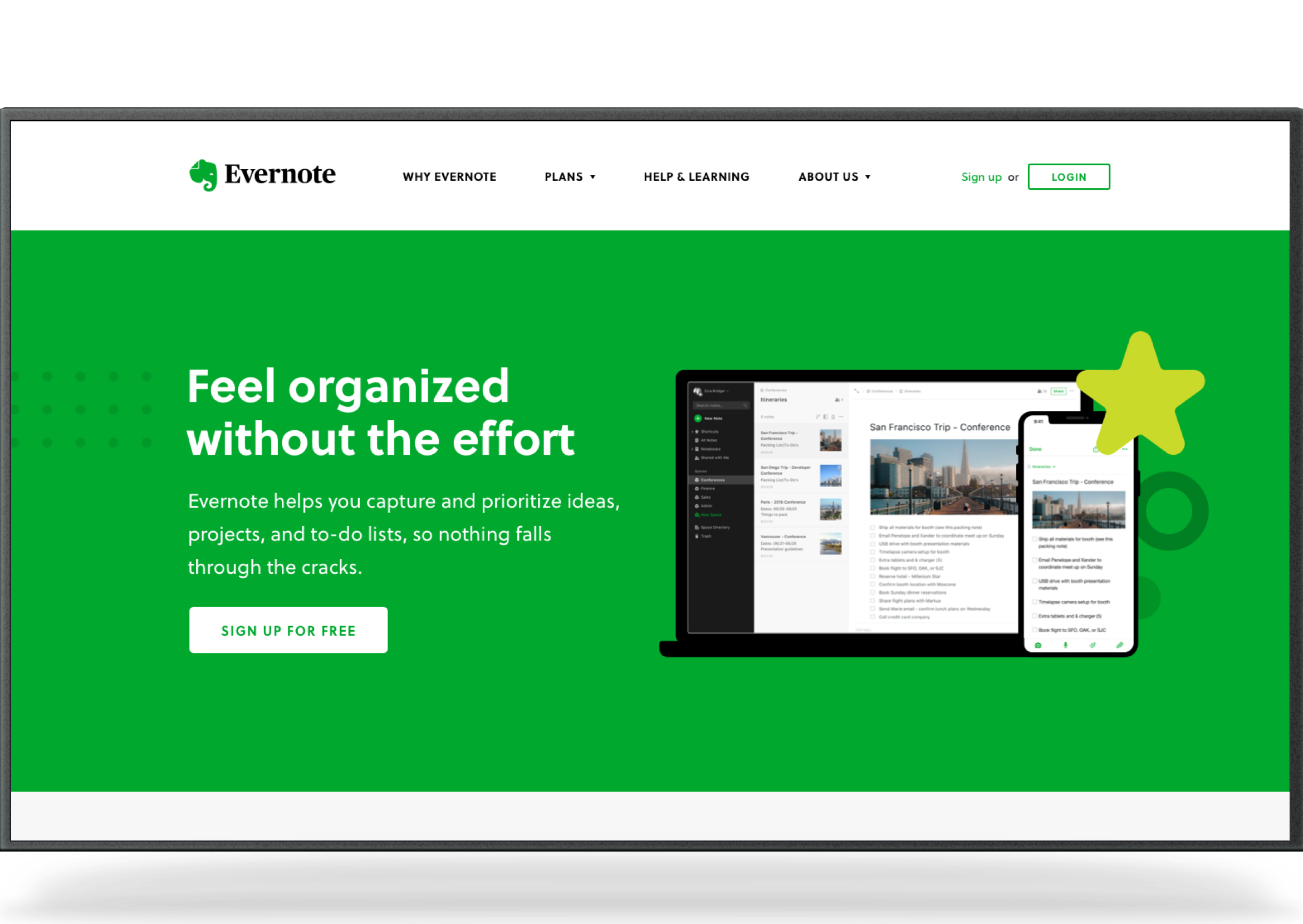 evernotehomepage